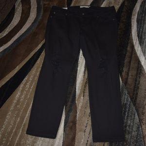 Black boyfriend jeans by Torrid size 18 short